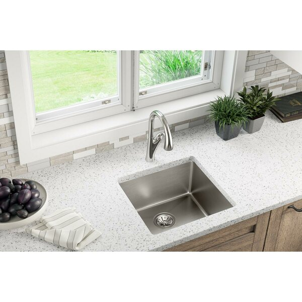 Elkay Crosstown 19 Quot L X 19 Quot W Undermount Kitchen Sink