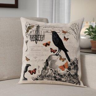 Hawthorne Gardens Throw Pillow
