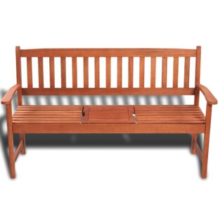 Solid Wood Garden Bench by Breakwater Bay