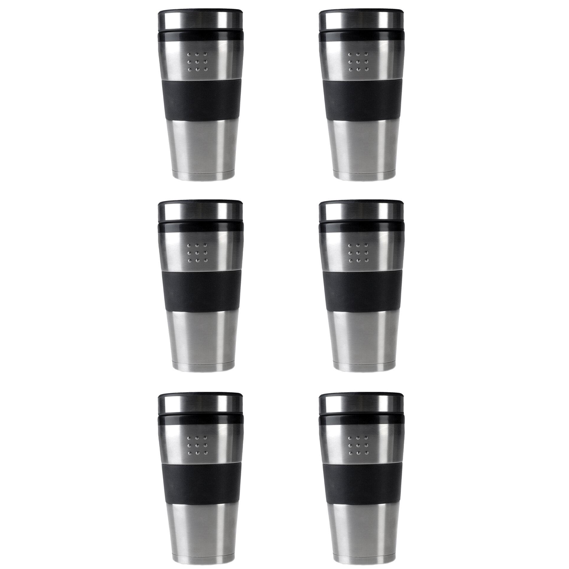 Berghoff Orion 16 Oz Stainless Steel Travel Mug Wayfair