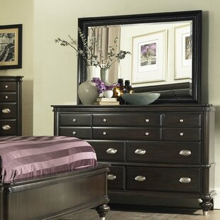 Balmers 7 Drawer Dresser with Mirror