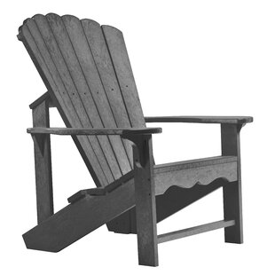 Beachcrest Home Zander Plastic Adirondack Chair