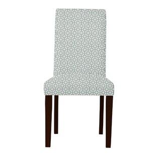 Latitude Run Beachwood Square Intertwined Parsons Chair (Set of 2)