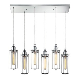 Rawlings Metal 6-Light Cluster Pendant by 17 Stories