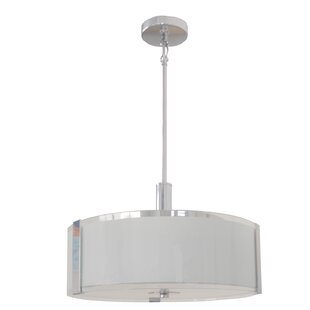 Orren Ellis Perkinson 3-Light LED Pendant