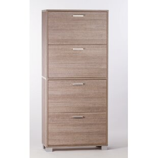 Sarmog 24-Pair Shoe Storage Cabinet