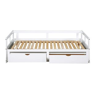 Alexey Twin Solid Wood Daybed With Trundle By Latitude Run