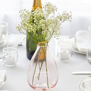 Personalized Glass Table Vase