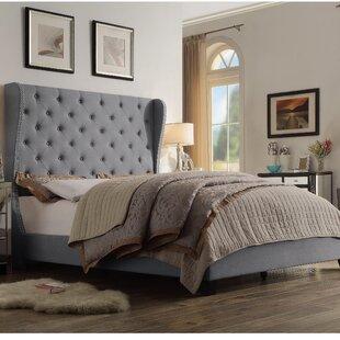 Alcott Hill Amir Upholstered Panel Bed