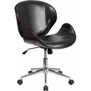 Savings Cutler Mid-Back Swivel Guest Chair by Corrigan Studio