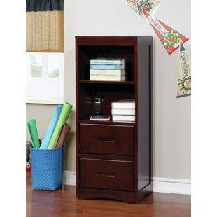 Jinn Transitional 47.25 Bookcase by Red Barrel Studio
