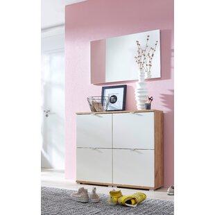 Espinoza 8 Pair Shoe Storage Cabinet (Set Of 2) By Ebern Designs
