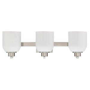 Quartz 3-Light Vanity Light