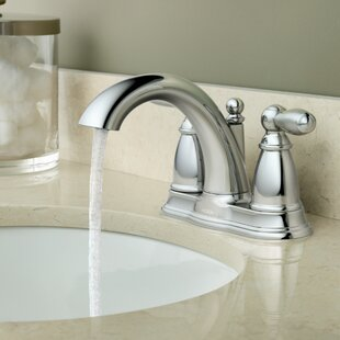 Moen Brantford Centerset Bathroom Faucet with Drain Assembly