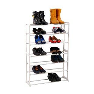 Order 7 Tier 21 Pair Shoe Rack By Rebrilliant
