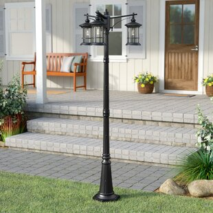 Compare Shaws Outdoor 3-Light 82 Post Light By Three Posts