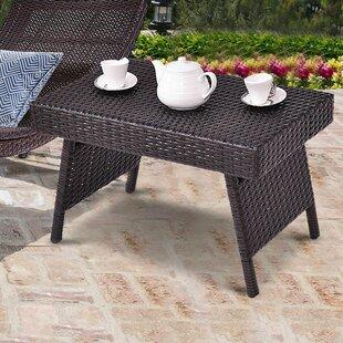 Ebern Designs Amedeo Garden Outdoor Folding Coffee Table