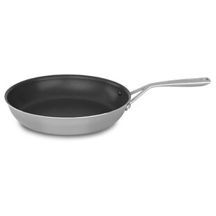 Tri Ply Non-Stick Frying Pan with Lid