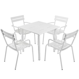 August Grove Julianna 5 Piece Dining Set
