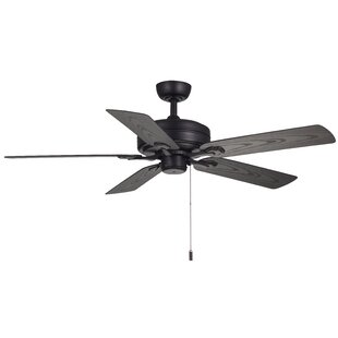 Great Price 52 Claverton 5-Blade Ceiling Fan By Williston Forge