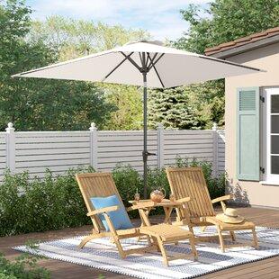 Blythdale 3m X 2m Rectangular Market Parasol By Sol 72 Outdoor