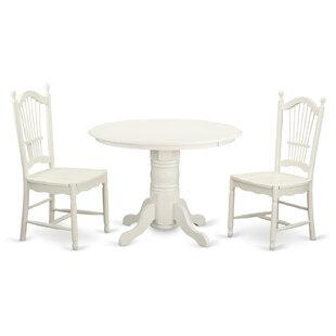 Sherlock 3 Piece Dining Set by August Grove