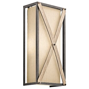 Comparison Hominy 2-Light Wall Sconce By Loon Peak