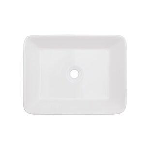 Online Reviews Ceramic Rectangular Vessel Bathroom Sink ByRoyal Purple Bath Kitchen