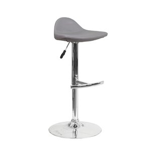 Derick Adjustable Height Swivel Bar Stool..