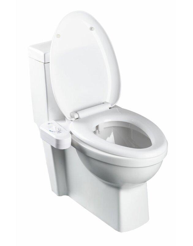 Bio Bidet Simplet Natural Water Toilet Seat Attachment Bidet Reviews Wayfair