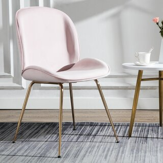 Amoroso Upholstered Dining Chair by Everly Quinn SKU:BE401095 Check Price