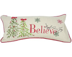Holiday Believe with Tree Lumbar Pillow