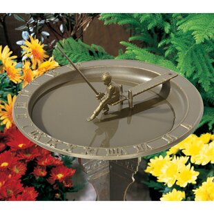 Whitehall Products Fisherboy Birdbath