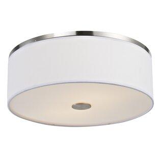 Efficient Lighting 2-Light LED Flush Mount