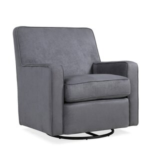 Kaia Glider Swivel Armchair by Red Barrel Studio