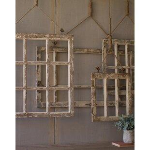 5 Piece Window Frame Wall Décor Set