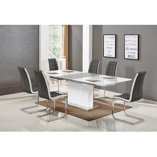 Sudha 5 Piece Extendable Dining Set by Orren Ellis Savings