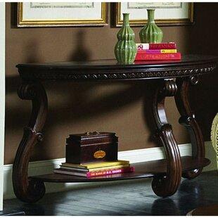 Astoria Grand Dorazio Wooden Console Table