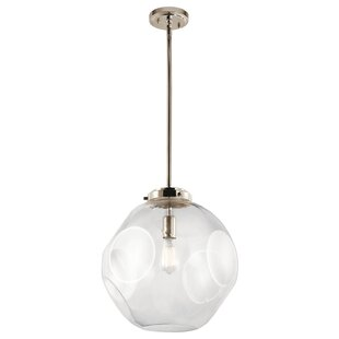 Holmgren 1-Light Globe Pendant by Latitude Run