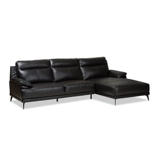Orren Ellis Riddles Right Facing Chaise 2-Piece Sectional