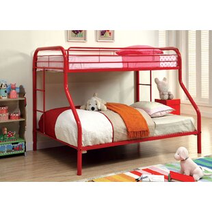 Compare prices Caruso Twin Over Full Bunk Bed By Zoomie Kids