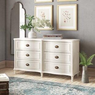 Birch Lane™ Heritage Watson 6 Drawer Double Dresser
