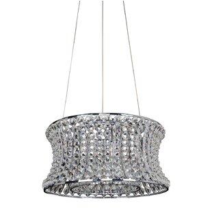 Corsette 6-Light Crystal Chandelier by Al..