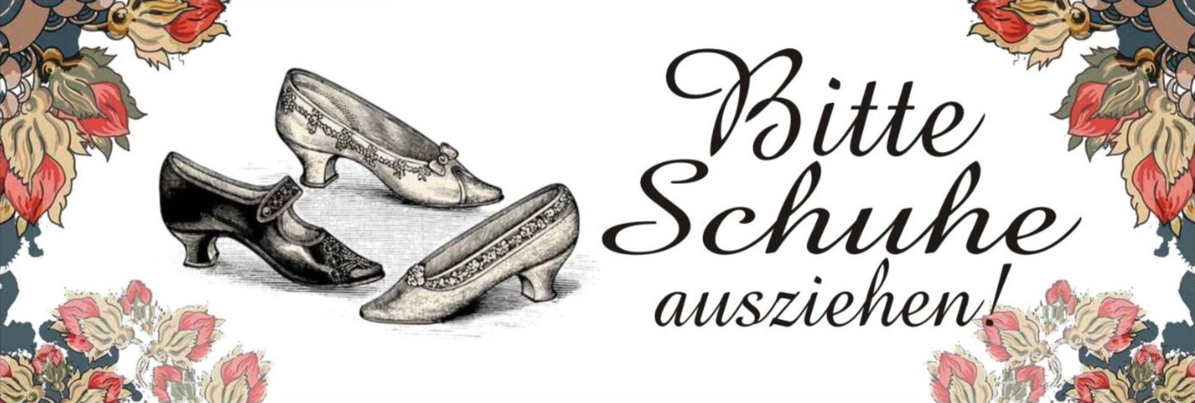 Bitte Schuhe Ausziehen vintage boulevard bitte schuhe ausziehen graphic plaque
