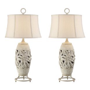 Rice Palm Tree 32 Table Lamp (Set of 2)