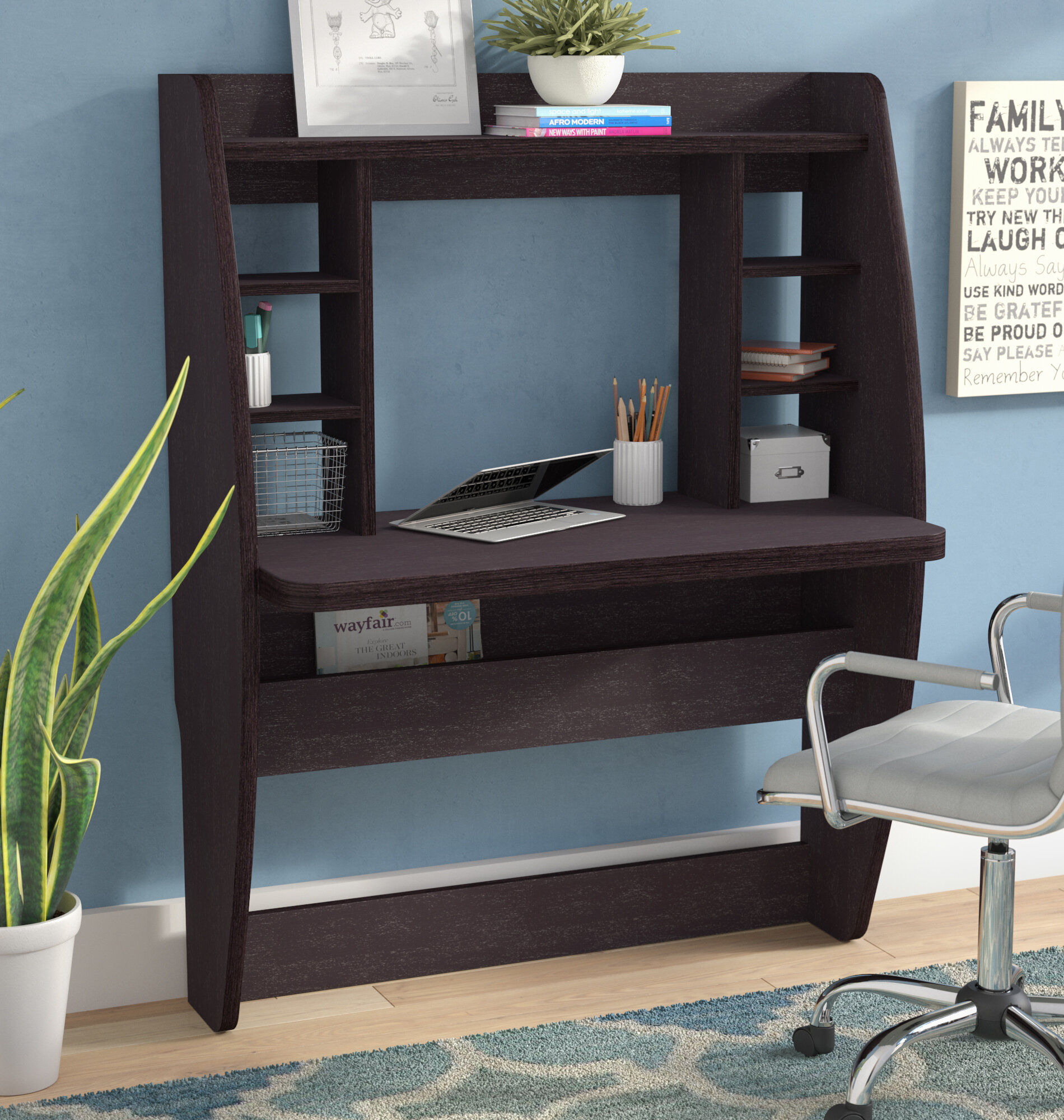 Fraley Wall Mounted Floating Desk