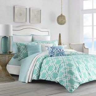 Avalon 100% Cotton Reversible Comforter Set by Trina Turk