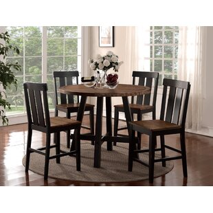 Goodman 5 Piece Counter Height Dining Set Gracie Oaks