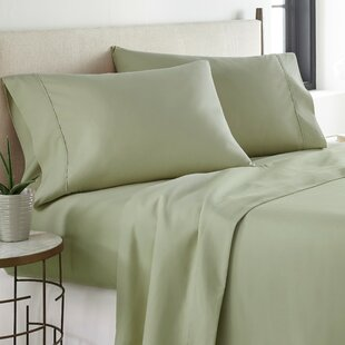 Dark Green Bed Sheets | Wayfair