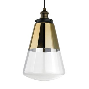 Jarne 1-Light Bulb Pendant by 17 Stories